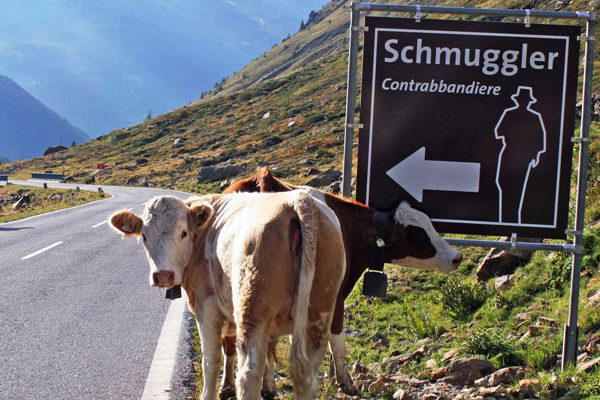 "The route towards the ""Smuggler"" cube - Timmelsjoch High Alpine Pass Road, Obergurgl-Hochgurgl"