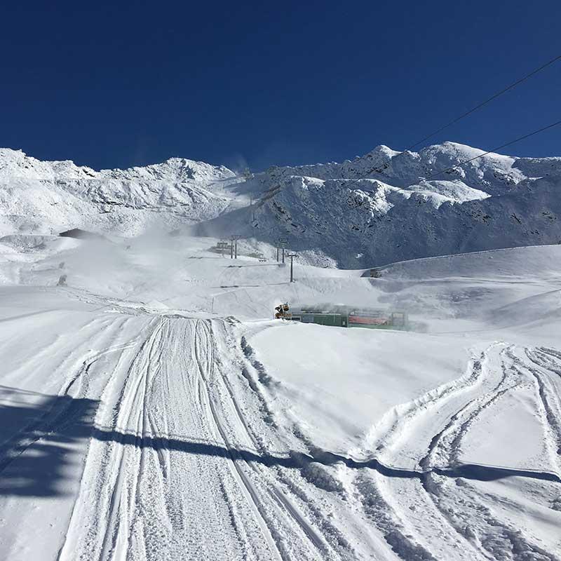 View onto the Wurmkogl summit - Obergurgl-Hochgurgl, Ötztal, Tyrol