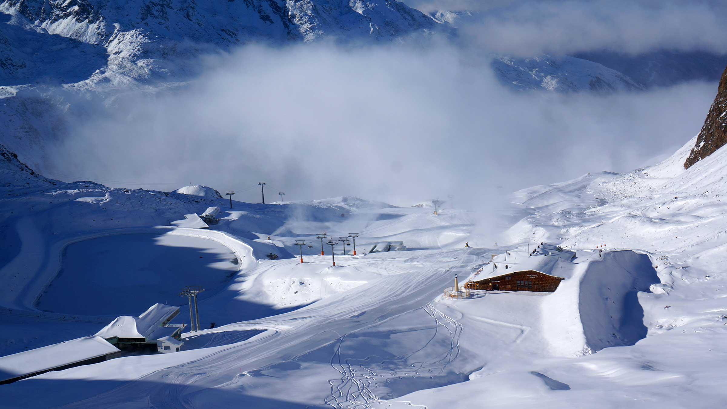 Im Diamant der Alpen wird das Ski-Opening hochkarätig!
