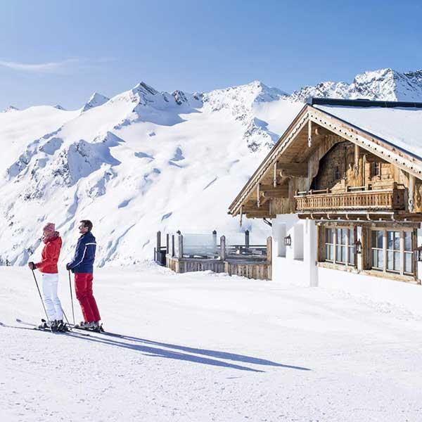 Hohe Mut Alm im Winter - Obergurgl-Hochgurgl, Ötztal, Tirol, Ski-Opening