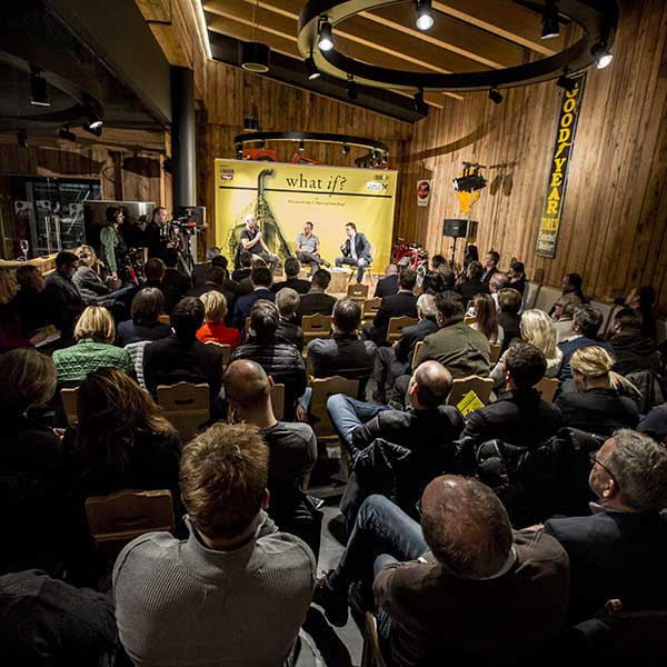 Zuschauer bei de What-If? Veranstaltung - Obergurgl-Hochgurgl, Ötztal, Tirol