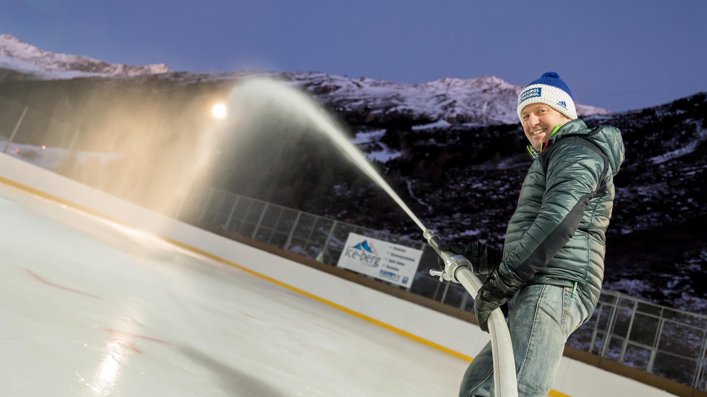Eislaufen und Eisstockschießen in Obergurgl