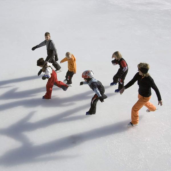 Eislaufen Obergurgl - Eislaufplatz in Obergurgl-Hochgurgl