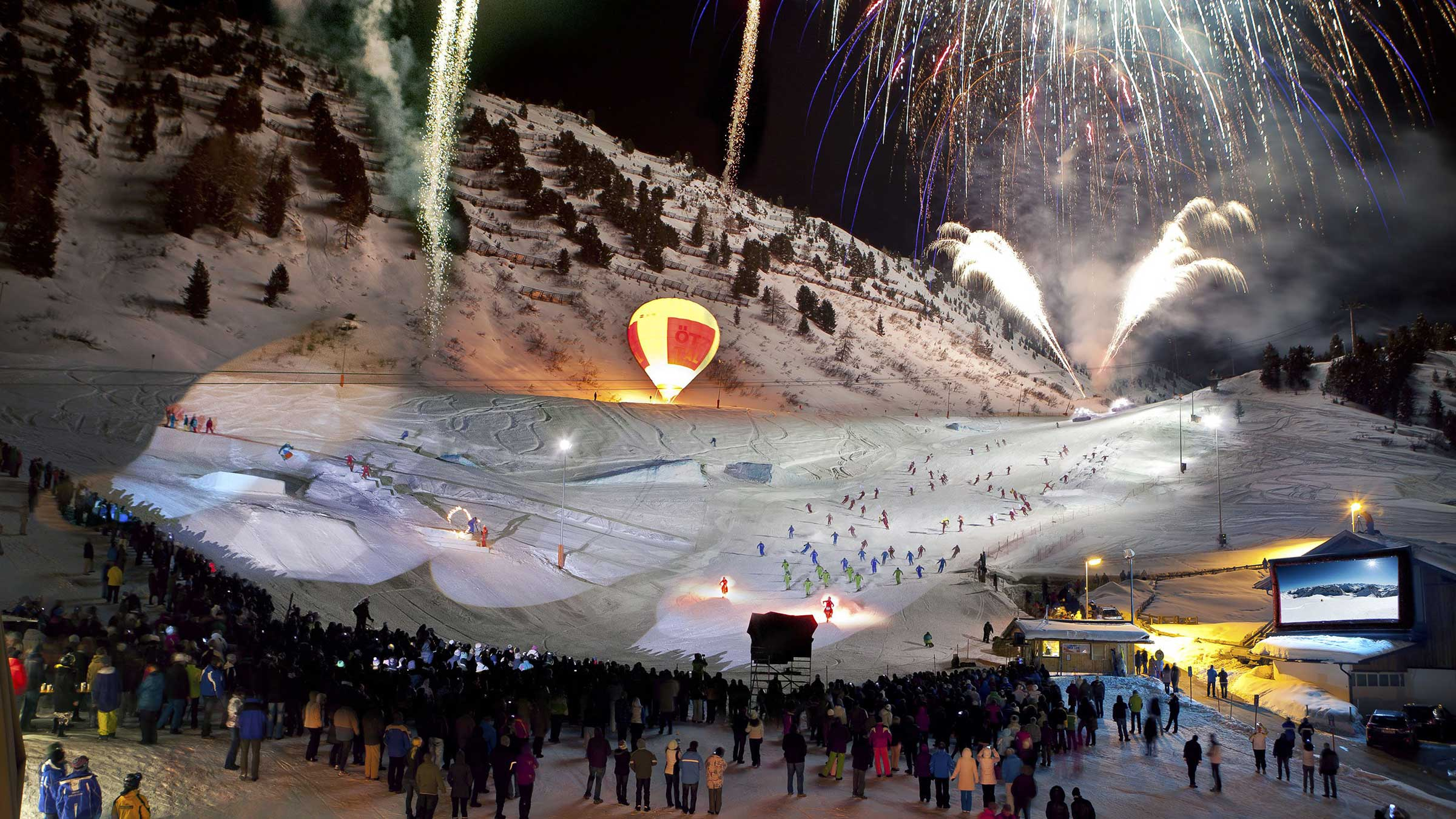 Ski Show - Powder Snow Week Obergurgl-Hochgurgl