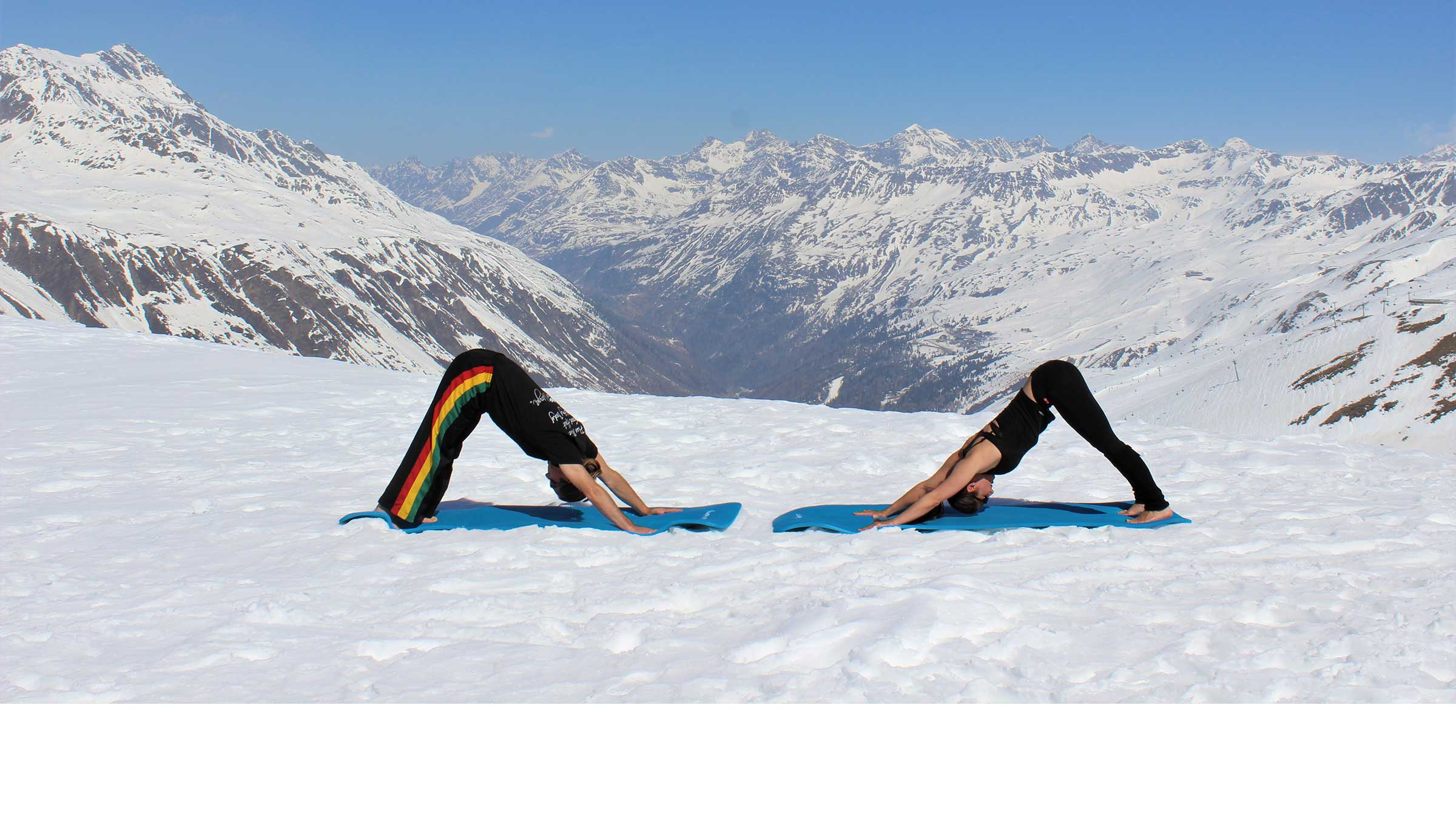 Alpine Yoga mit Apura Yoga in Obergurgl