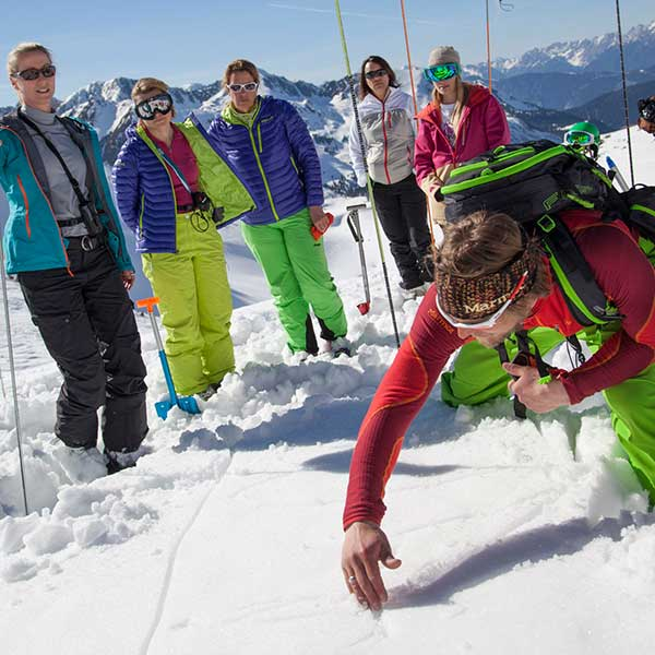 Lawinenkunde - SNOWHOW Workshop Lawine Obergurgl-Hochgurgl