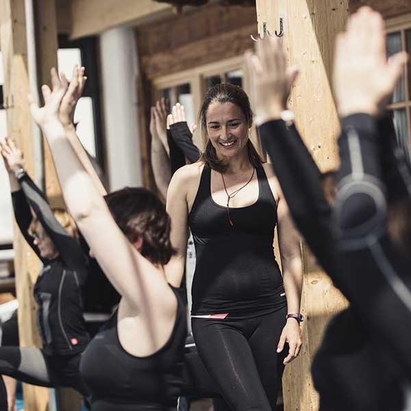 Yogaeinheit - Alpine Yoga mit Apura Yoga in Obergurgl