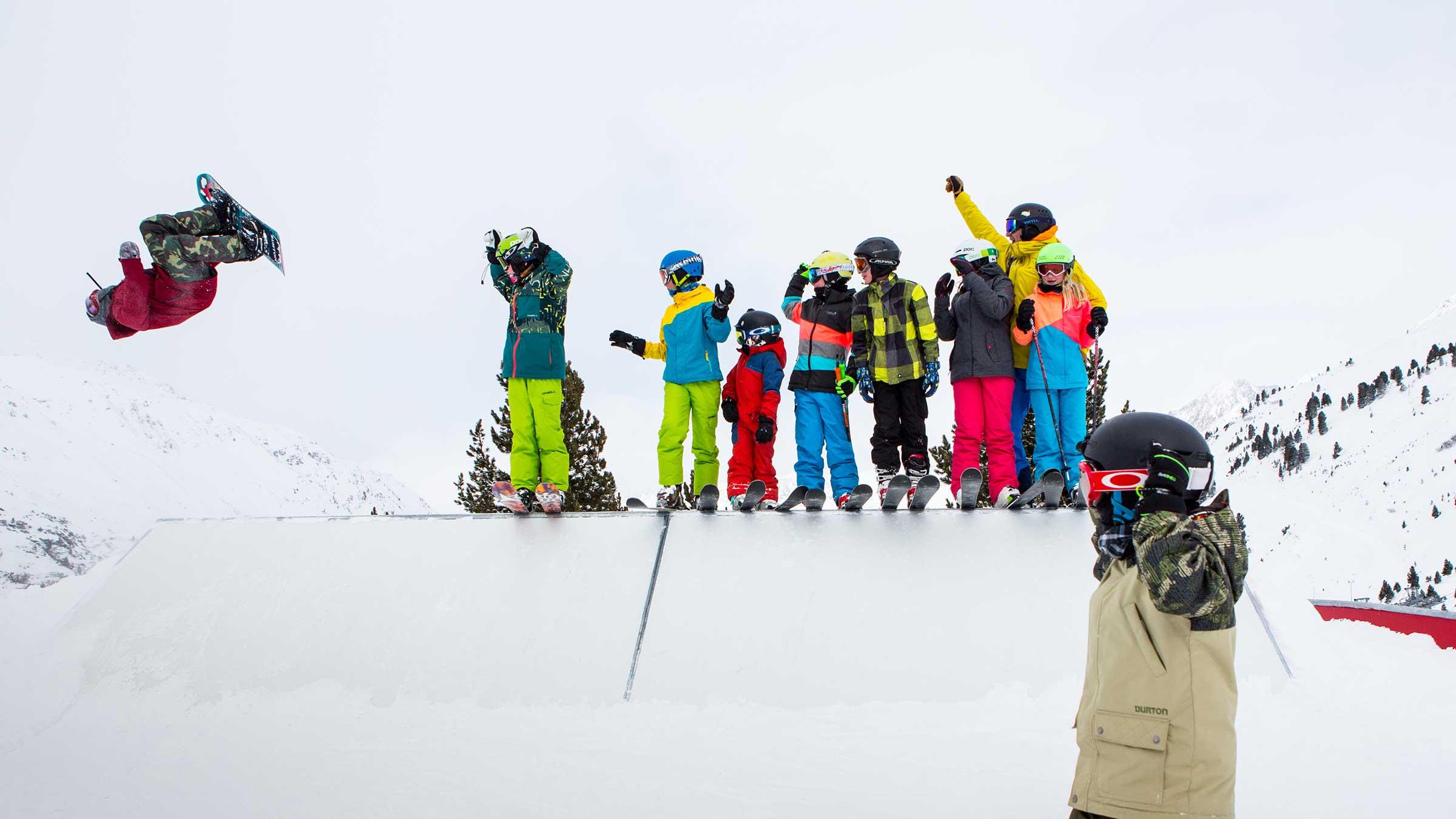 SNOWHOW Kids Day im quattro Snow Park Obergurgl