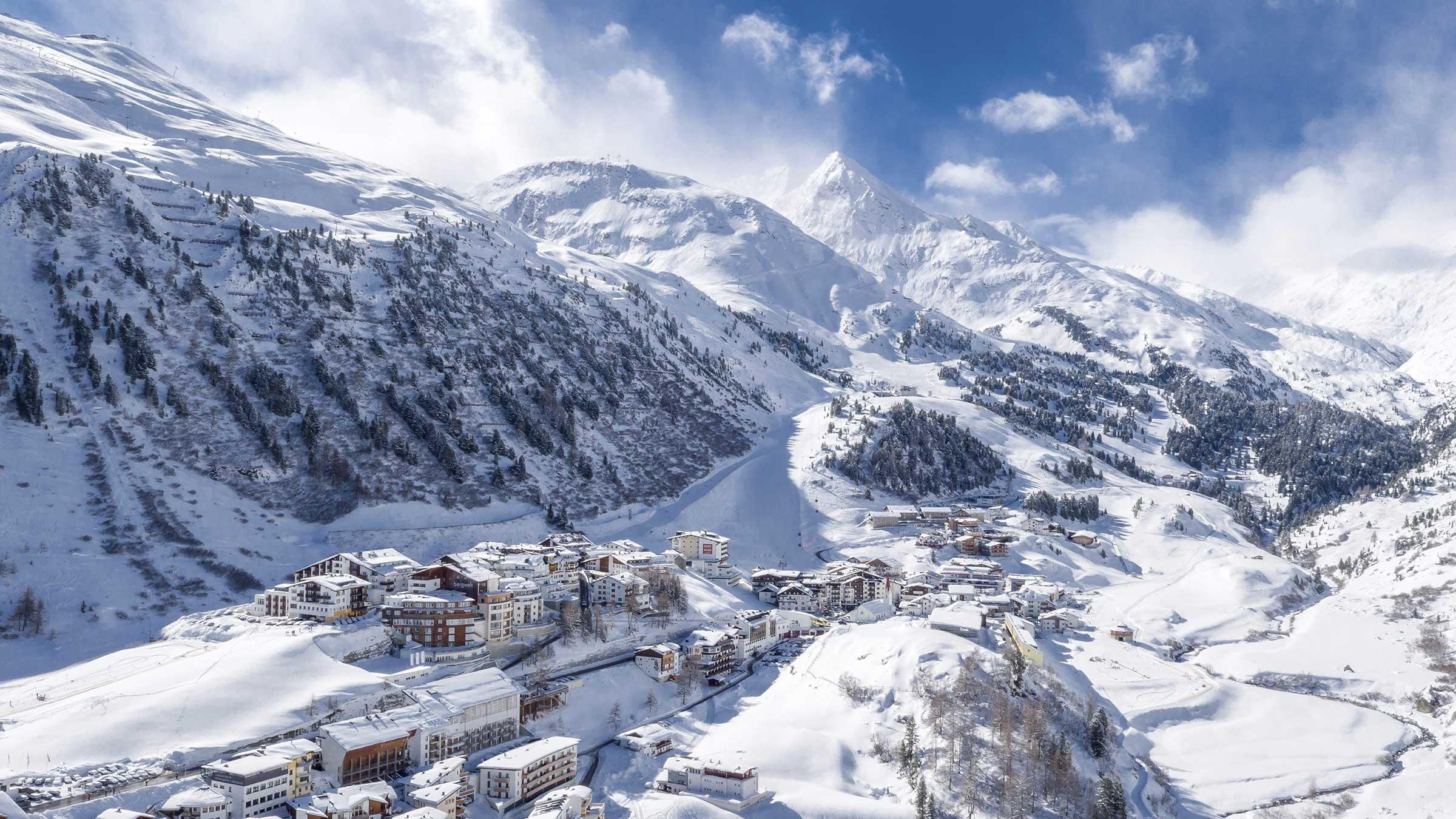 Obergurgl im Winter - Bertrand Piccard in Obergurgl-Hochgurgl
