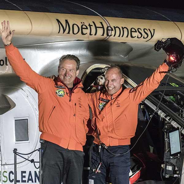 Bertrand Piccard und Andre Borschberg - Bertrand Piccard in Obergurgl-Hochgurgl