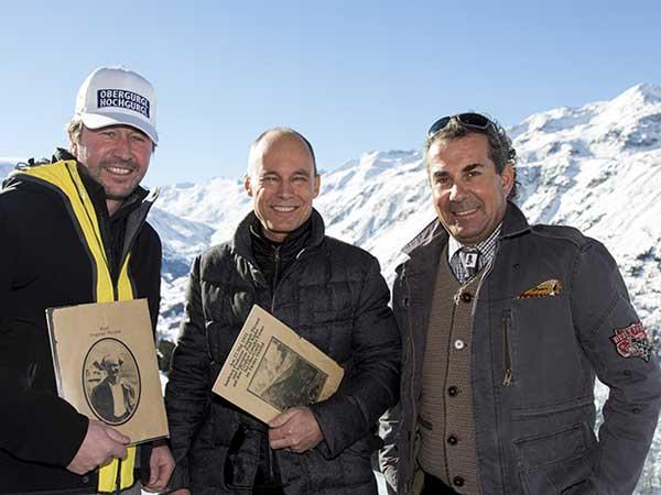 Bertrand Piccard in Obergurgl-Hochgurgl