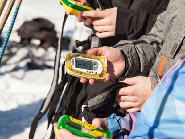 LVS Geräte Teilnehmer - SNOWHOW Workshop Lawine