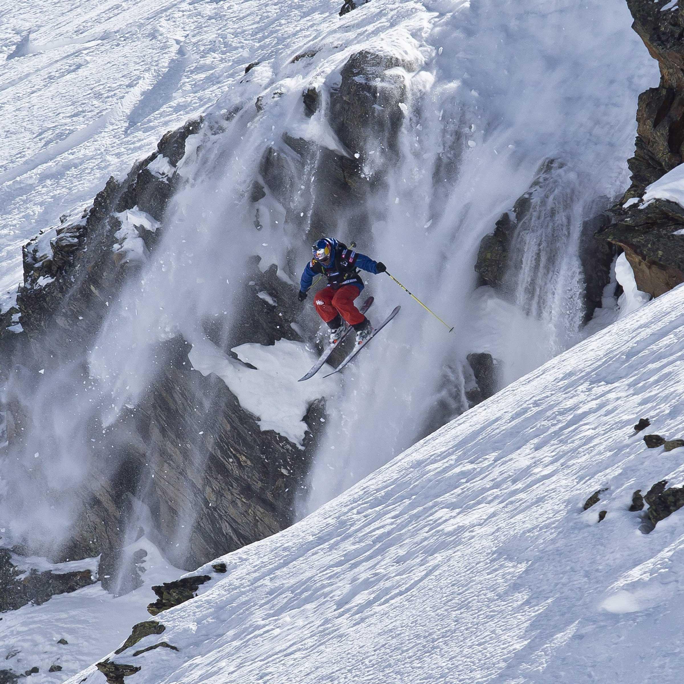 Cliffdrop Skifahrer - Open Faces Obergurgl-Hochgurgl