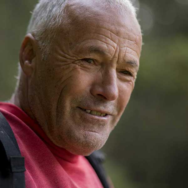 Porträt Walter Riml - Mineraliensuche im Ötztal