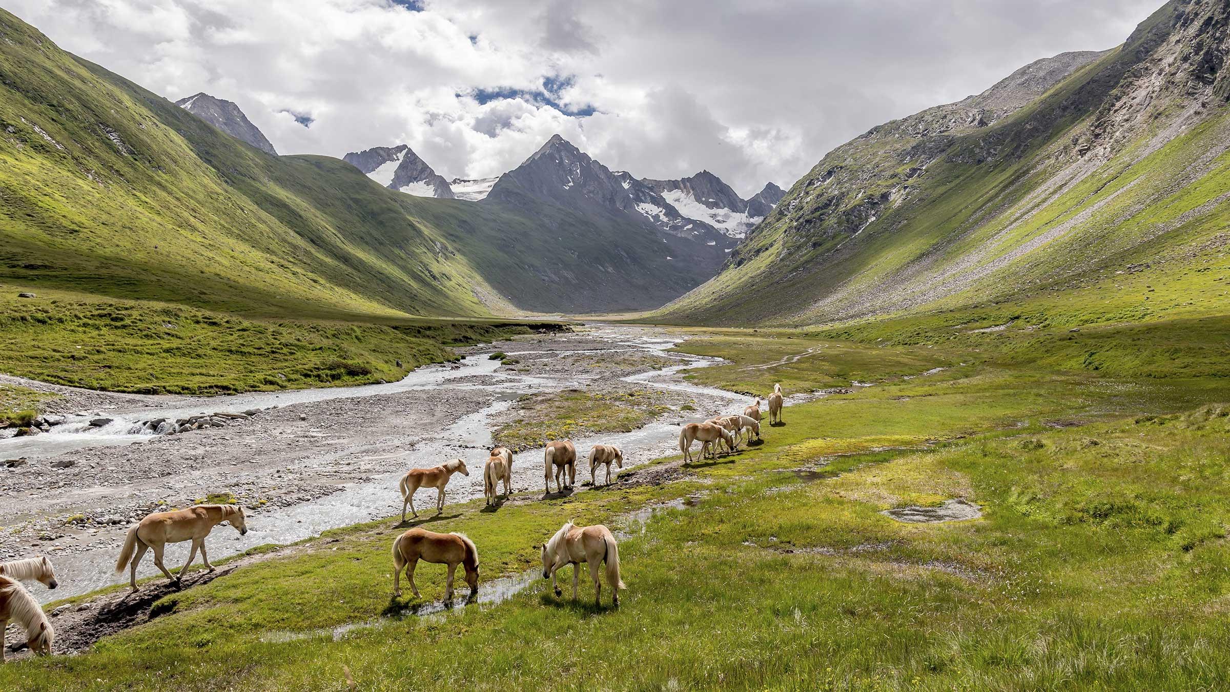 Blick ins Rotmoostal - Gletscher Run Obergurgl-Hochgurgl