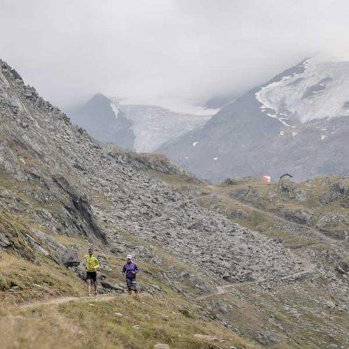 Unterwegs auf einsamen Pfaden - Gletscher Run Obergurgl-Hochgurgl