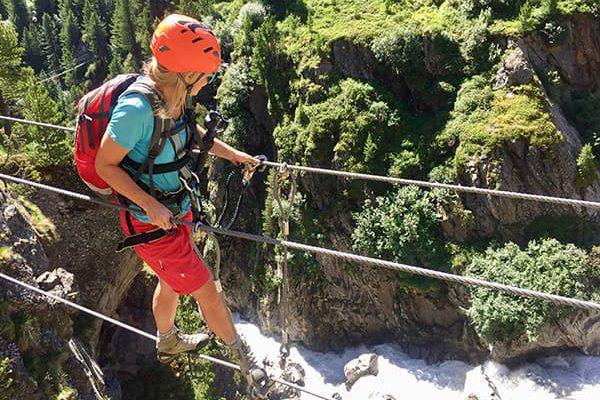 Klettersteig Obergurgl : Der klettersteig zirbenwald obergurgl