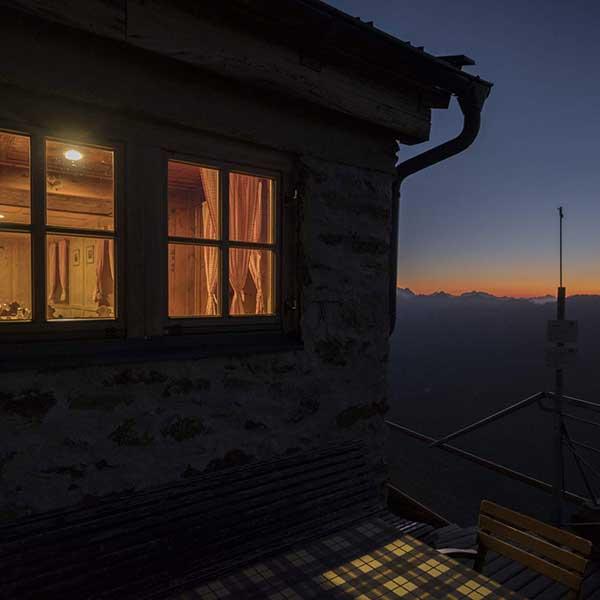 Abendstimmung am Ramolhaus - Ramolhaus Obergurgl-Hochgurgl