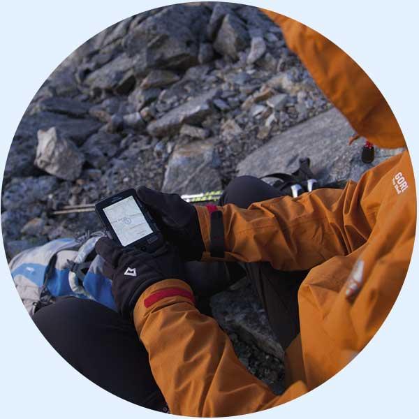 GPS-Navigation - Wanderpackliste