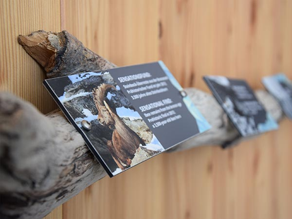 Naturpark Ötztal Infopoint Hohe Mut Alm