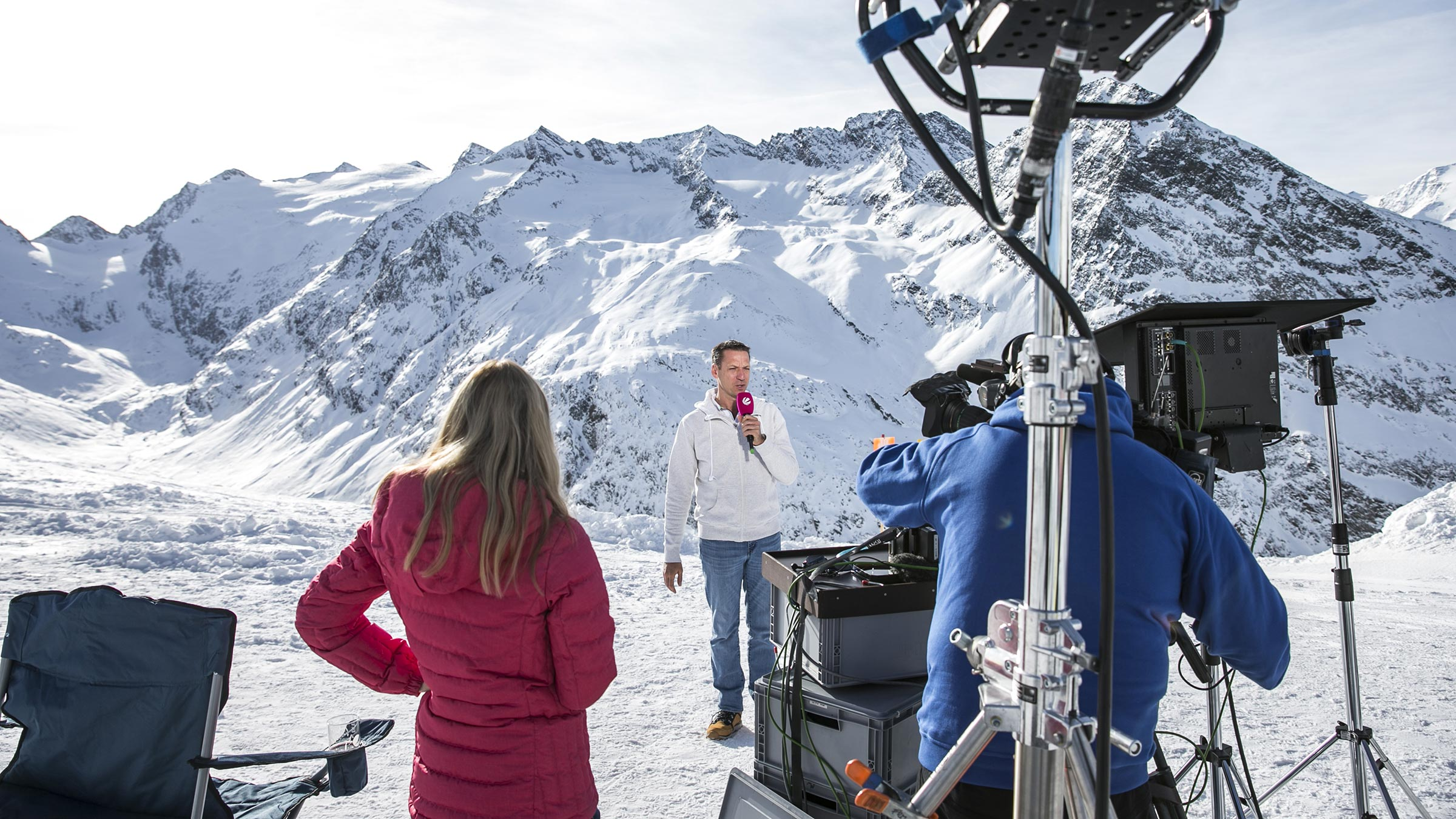 High Pressure Area: TV Weathermen in Obergurgl-Hochgurgl