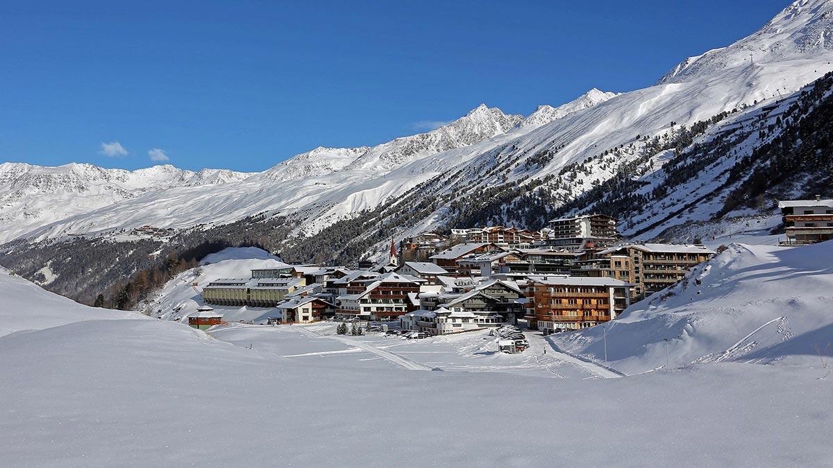 Ortsbild Obergurgl-Hochgurgl Winter - Obergurgl-Hochgurgl Quiz