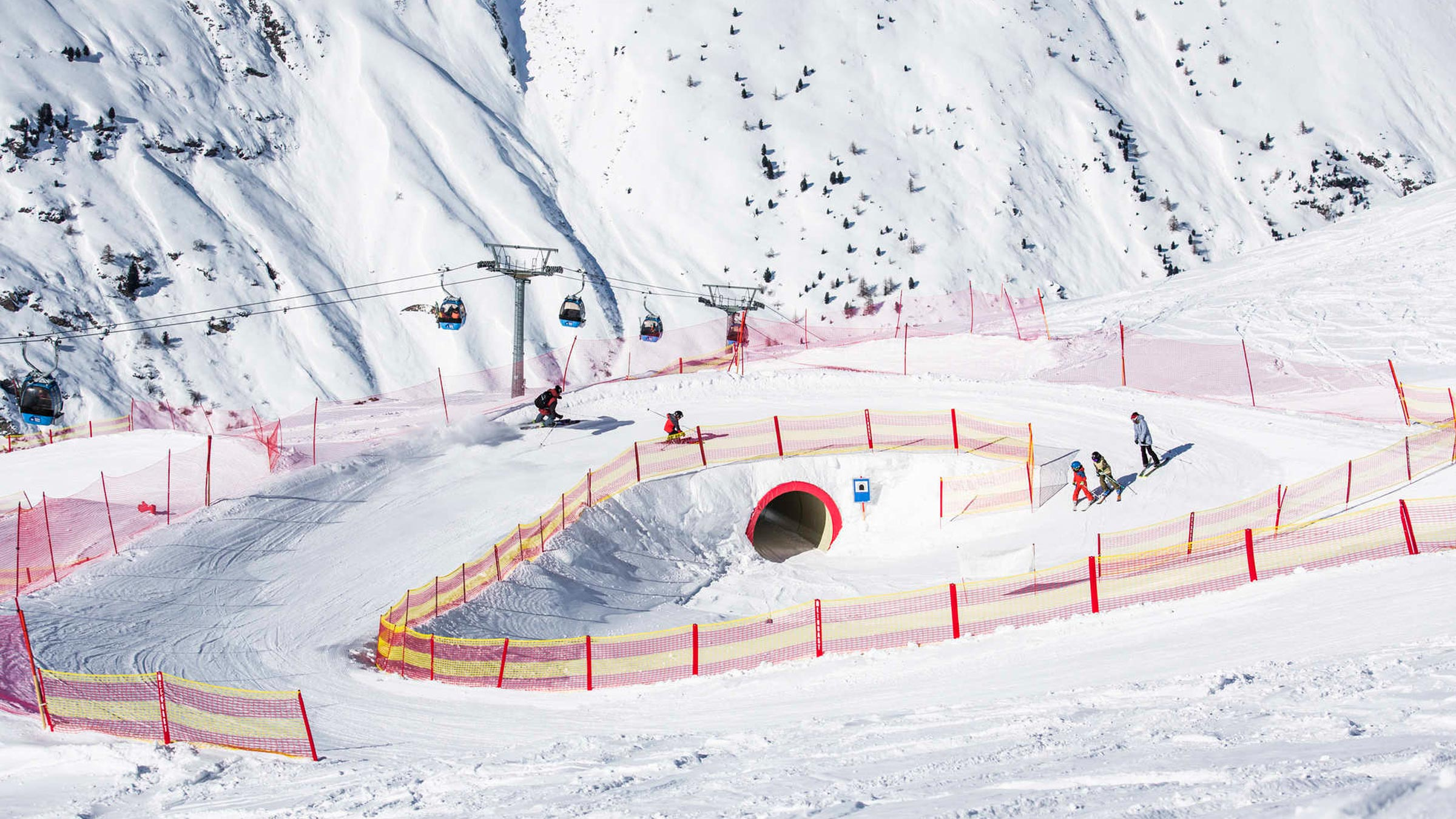 "A whole mountain full of fun: The new ""Funmountain"" in Obergurgl"