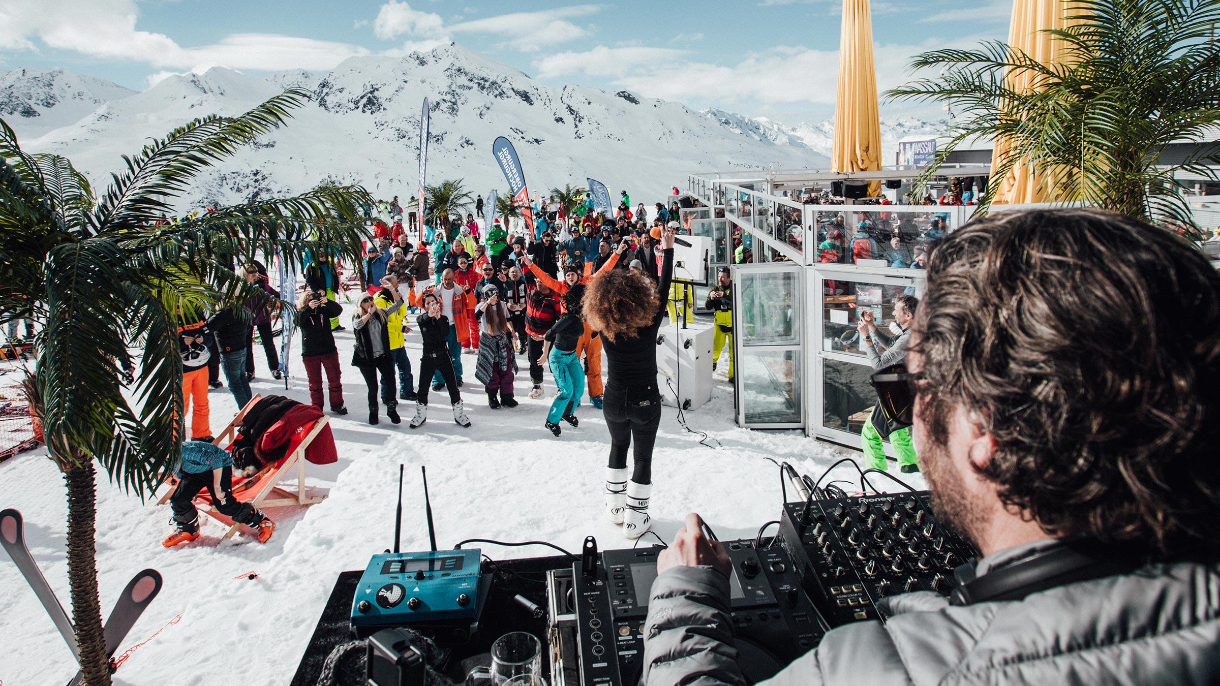 Once doesn't count: Nassau Beach Club Ibiza returns to Obergurgl-Hochgurgl for its 2nd guest performance