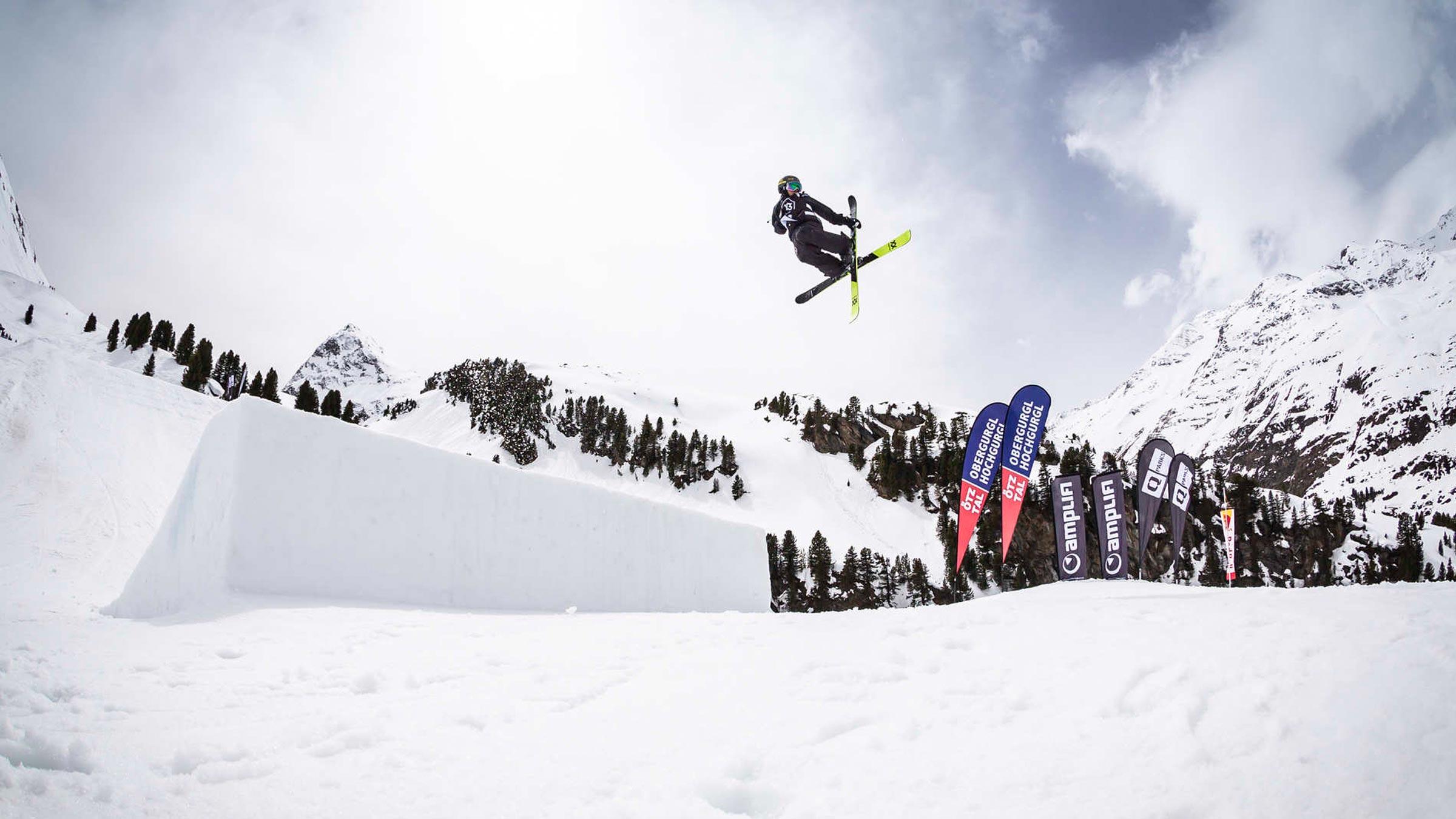 Der Diamant der Alpen ist jetzt auch für Freeskier eine Top Location!