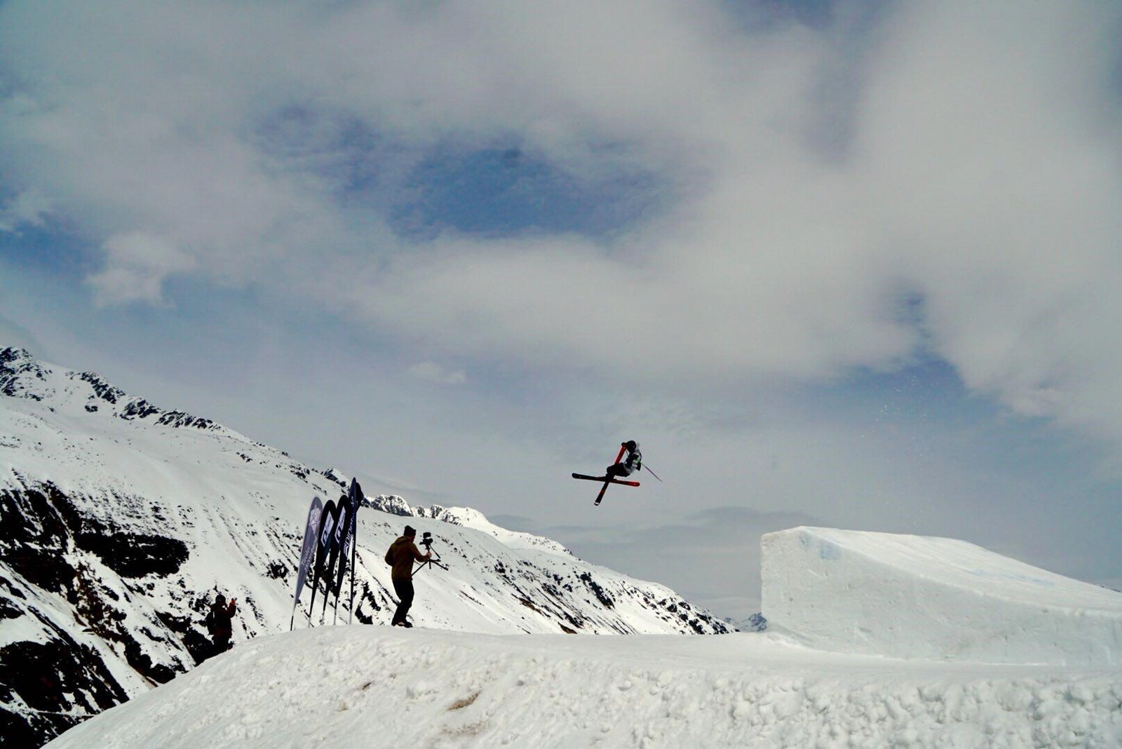 Freeskier Michel Bienz - QParks Tour Finale Obergurgl-Hochgurgl