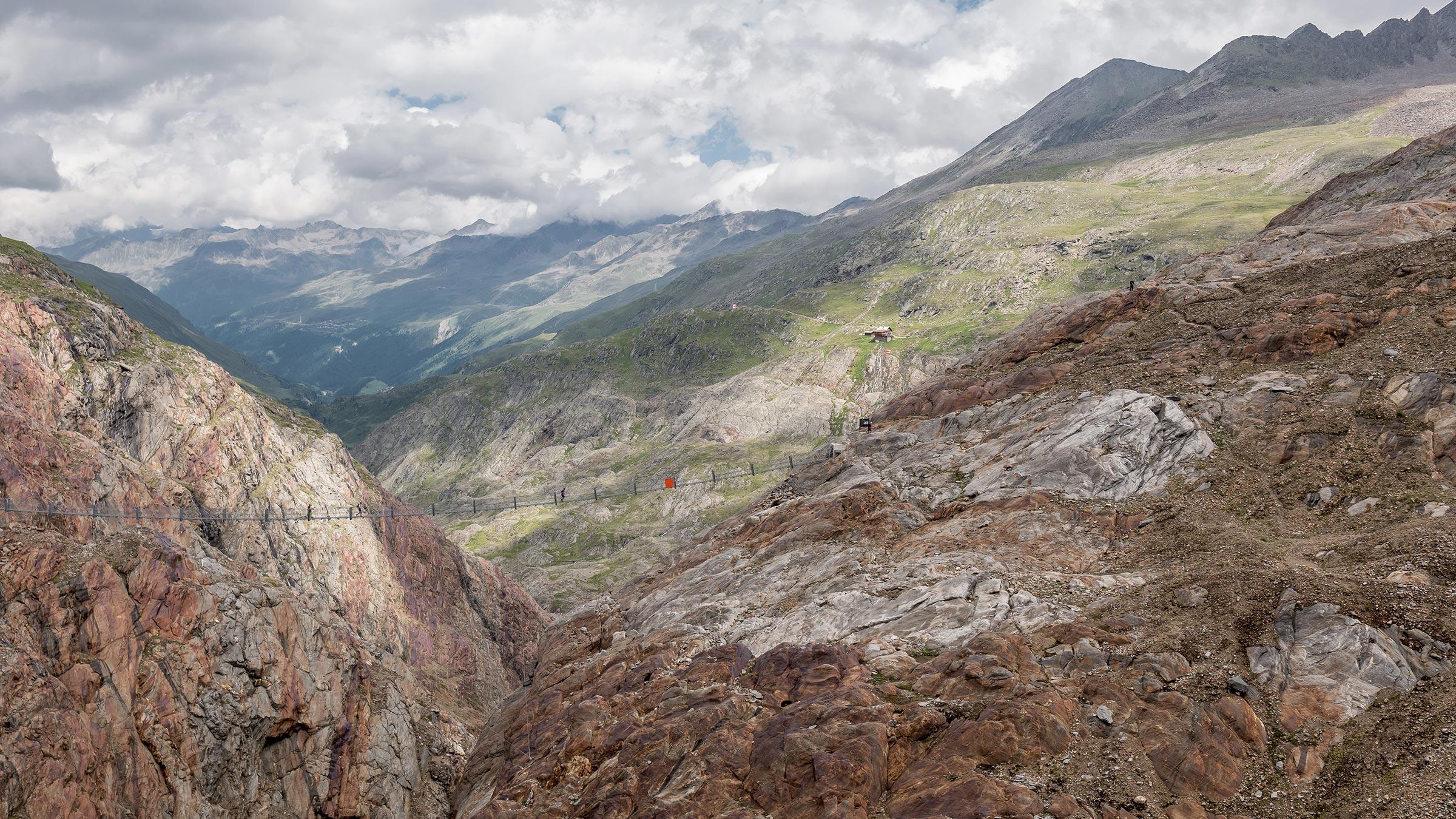 Piccard Rundweg: Das Highlight wartet am Talschluss