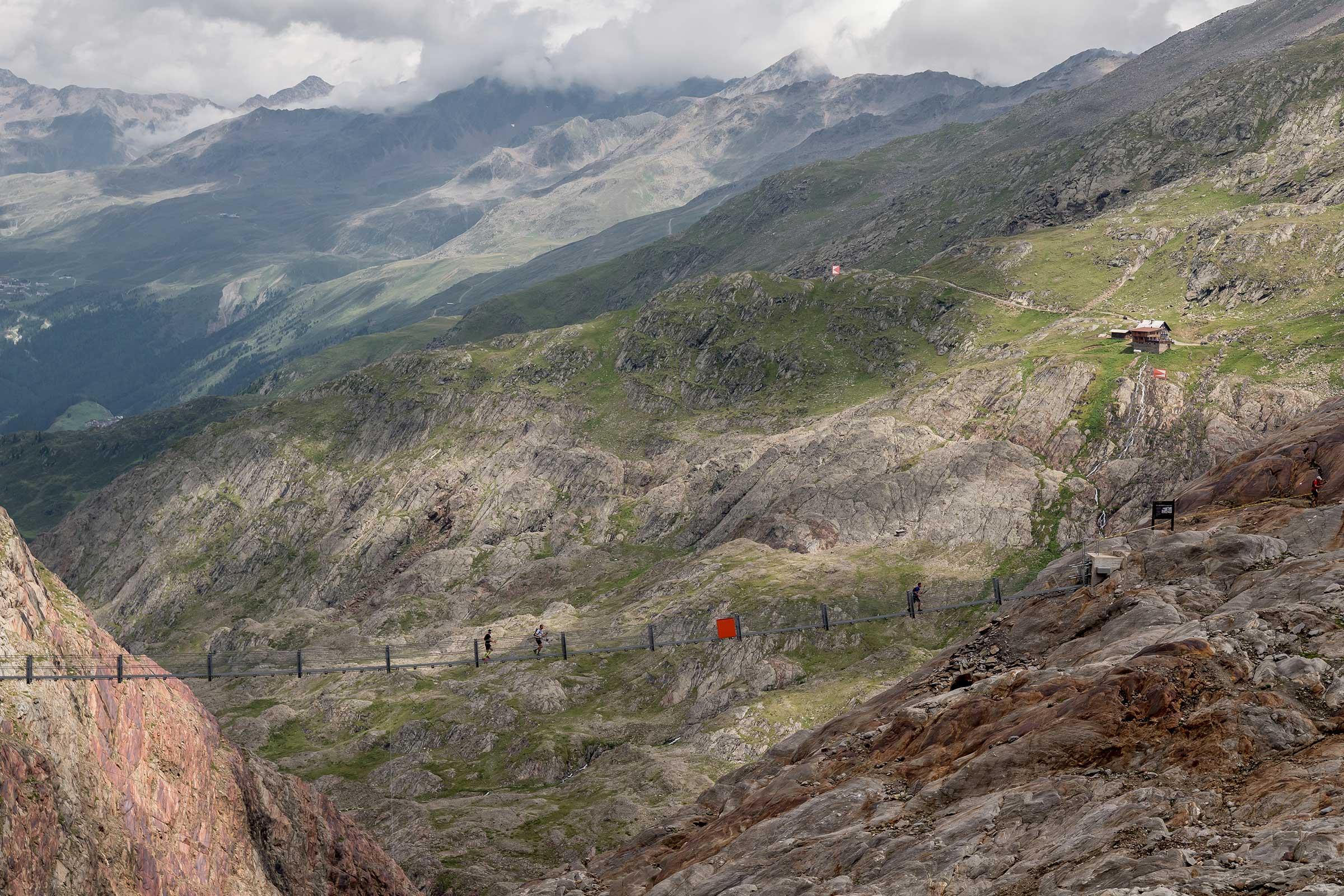 Piccard Brücke - Gletscher Trailrun Obergurgl-Hochgurgl