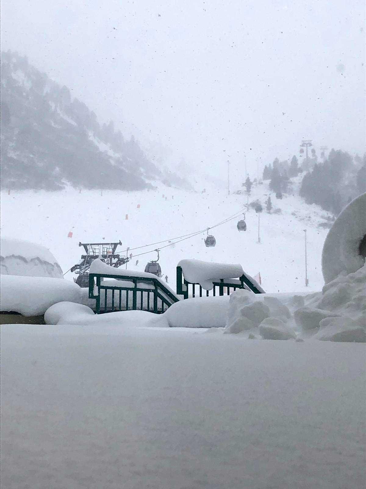 Snow Update aus Obergurgl-Hochgurgl - Neuschnee 10. Dezember 2018