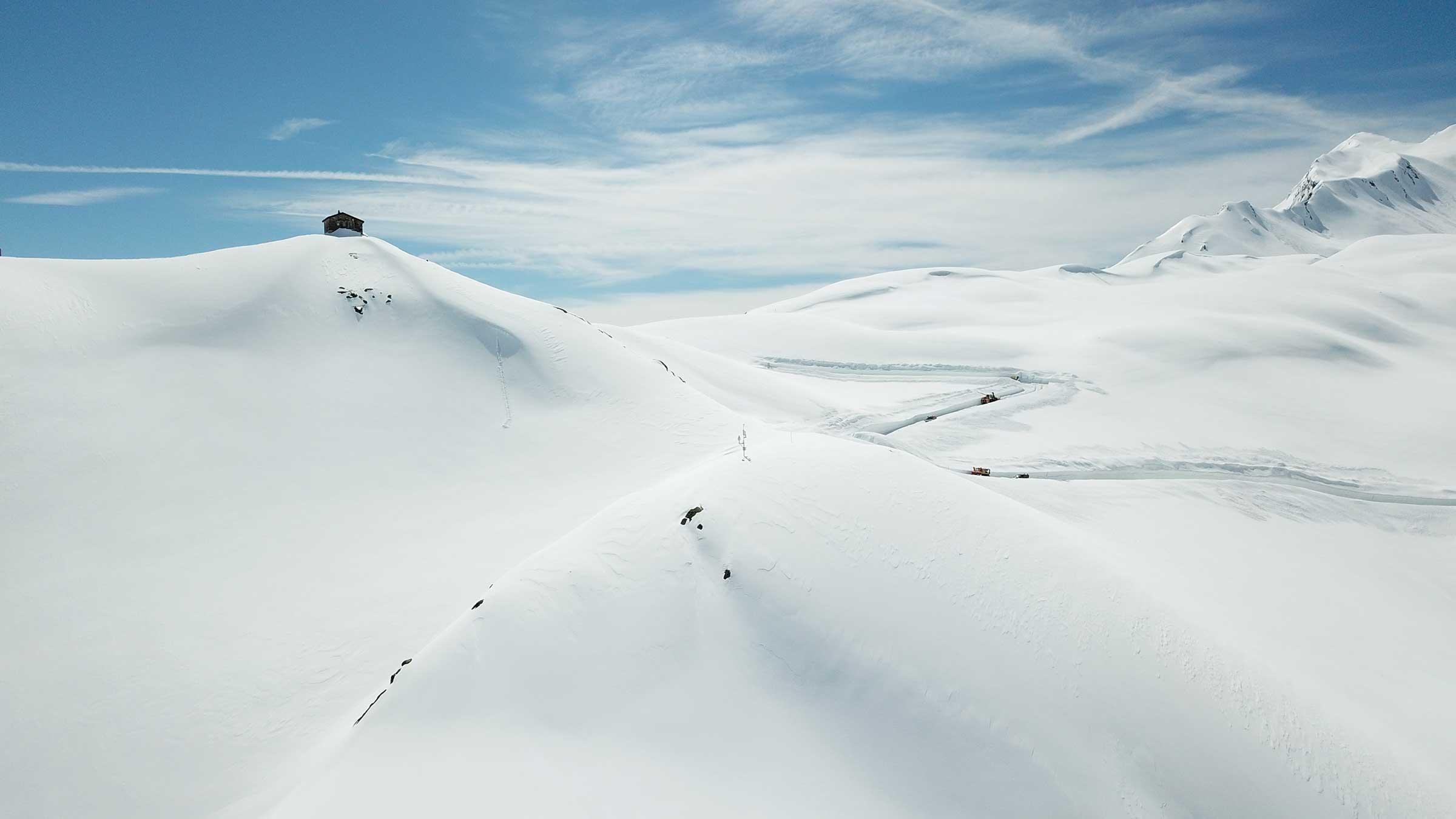 Wo ein Wille, da ein (schneefreier) Weg – Schneeräumung am Timmelsjoch