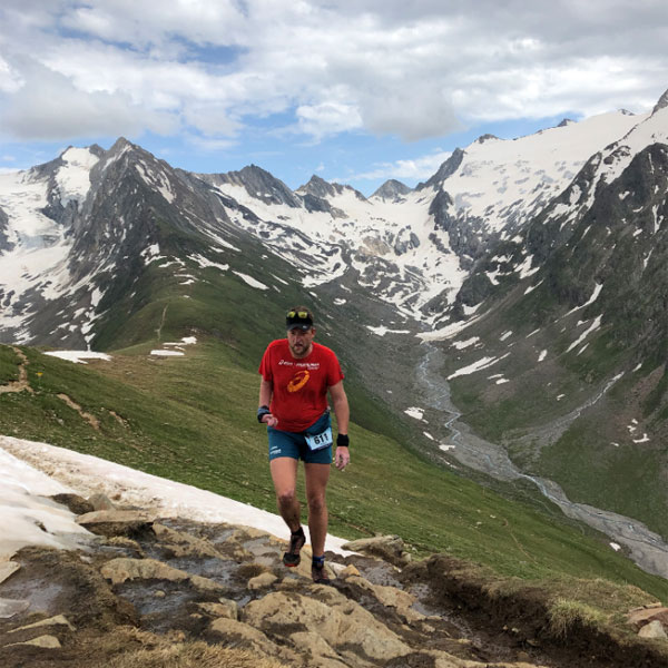 Gastautor Robert unterwegs zur Hohe Mut Alm - Gletscher Trailrun Obergurgl-Hochgurgl